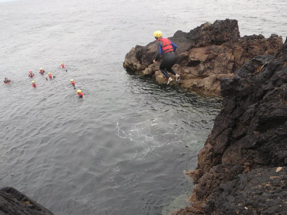 coasteeringcliffjump